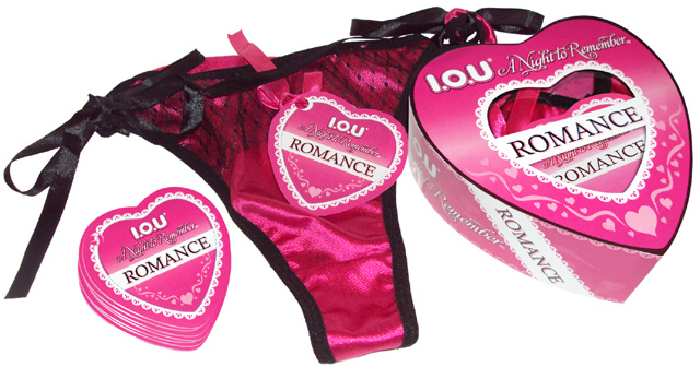 I.O.U. A Night to Remember Romance Panties